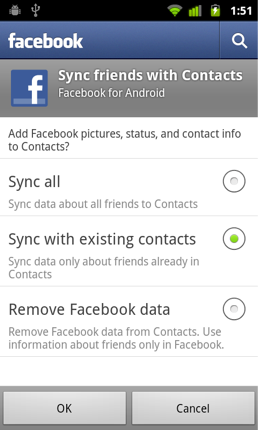 Google Renews Battle Over Facebook Contacts, Removes Phone