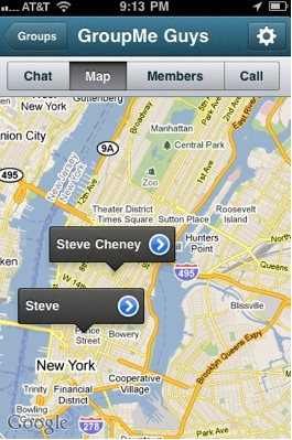 GroupMe Gives Push Notifications A Big Hug, Also Maps And
