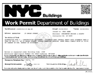 Nyc Department Of Buildings Co Application