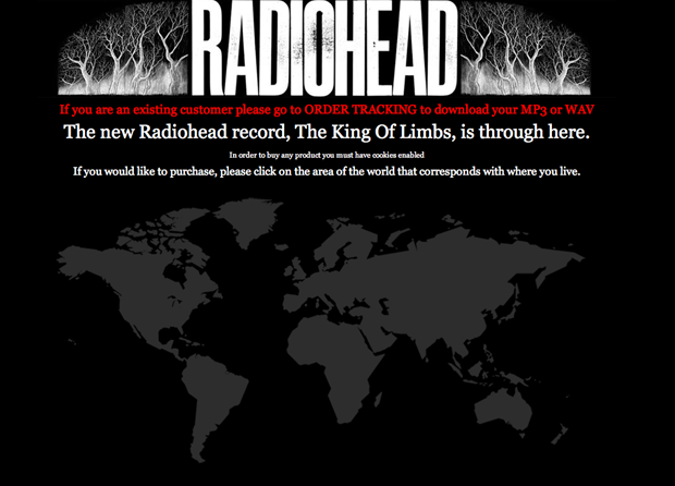 Radioheads day early online release of the king of limbs goes its as if radiohead got the lions share of internet awareness leaving the rest of the music industry completely clueless pretty much all anyone can talk mightylinksfo