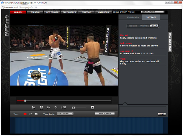How Does Ufc S New Amp Improved Internet Pay Per View Stream