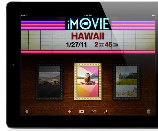 iMovie And Garageband For iOS Announced, Looks Good On iPad