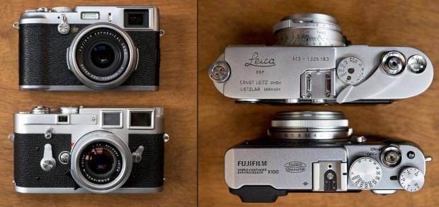 Look, A Fujifilm X100 Next To A Leica M3 | TechCrunch