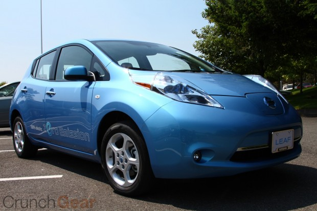 I Just Had The Opportunity To Test Drive New Nissan Leaf Here In Sunny Seattle And Enough Time With Car Garner Some First Impressions