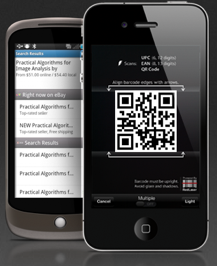 Mobile Phone Barcode Scanner App