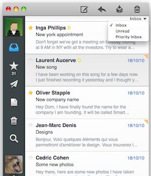 gmail priority inbox mac mail