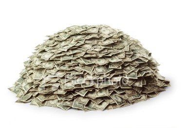 Supergiant VC rounds aren't just raised in China istockphoto 581154 pile of money