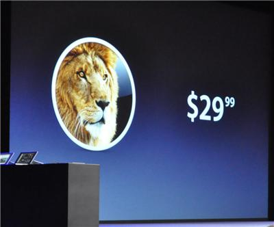 Mac OS X Lion: Coming In July For $29 (And You Won't Be Able