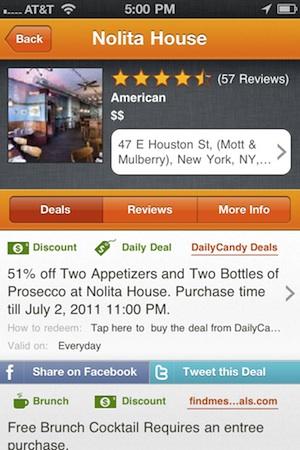 Bitehunter Launches Kayak For Restaurants Iphone App Techcrunch