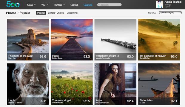 White-Hot Flickr Alternative 500px Raises $525K In Series A