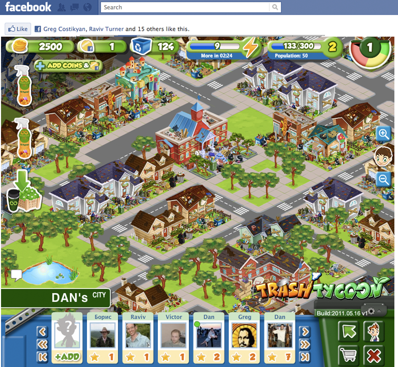 Multiplayer Facebook Game Trash Tycoon Trains You To Be