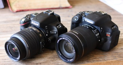 Head-To-Head Review: Canon T3i Vs  Nikon D5100 | TechCrunch