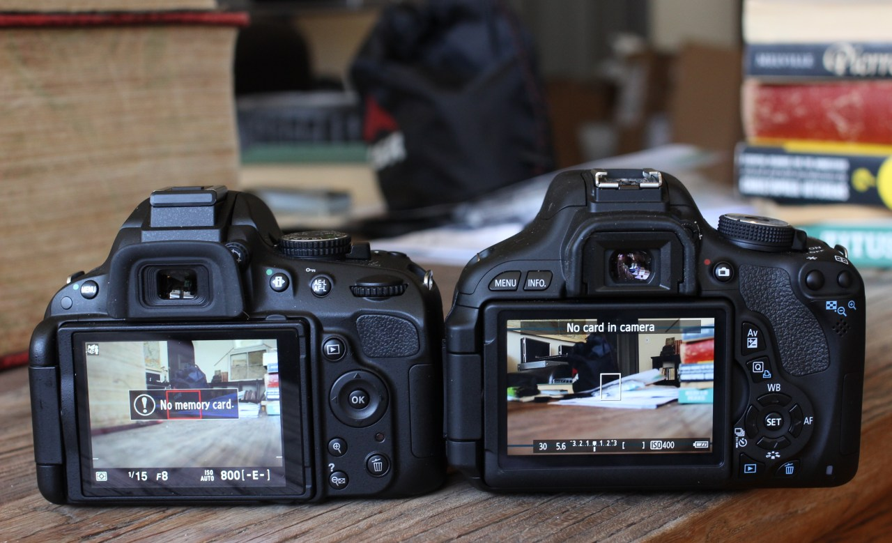 Head-To-Head Review: Canon T3i Vs  Nikon D5100 | TechCrunch