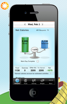 about com s calorie count ios app adds voice recognition food