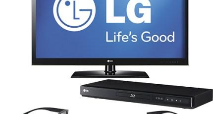 LG Bundles 3D TV Set, 3D Blu-ray Player And 3D Glasses | TechCrunch