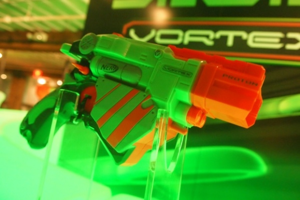 Nerf's New Vortex Blasters Shoot Discs! And They're Awesome