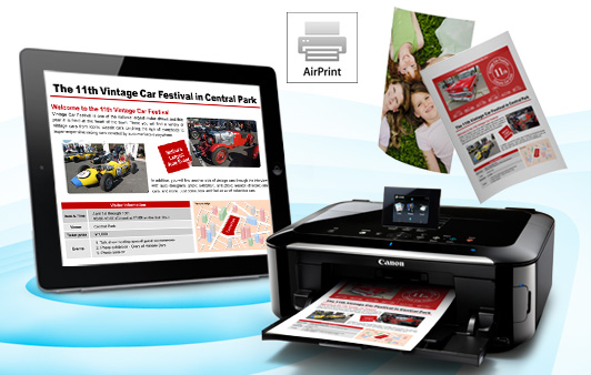 Canon Gets In On The AirPrint Fun, Allows For iOS Printing