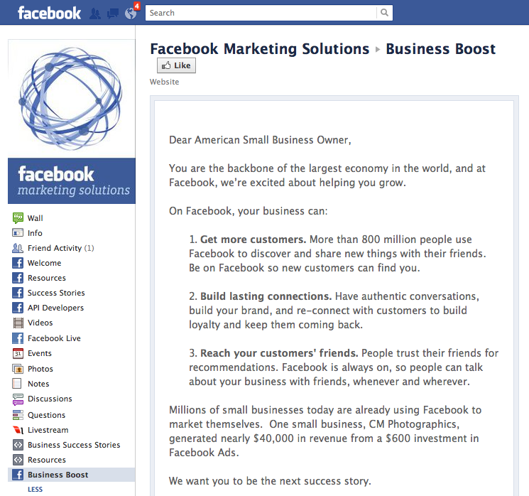 Facebook To Provide Up To $10 Million In Free Advertising For U S