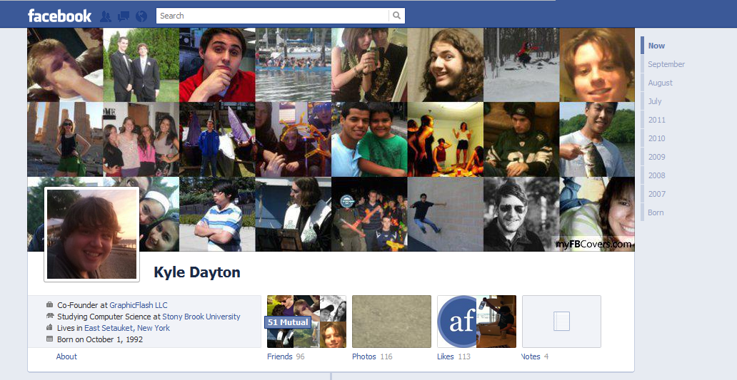 Make Facebook Look More Like MySpace With Timeline Cover Photos From