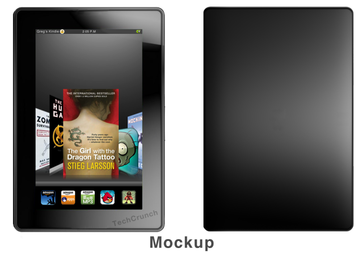 Amazon Is Only Launching A 7″ Tablet? Genius  (Plus A Mockup