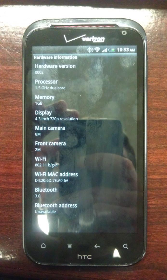 HTC Vigor Photo Leak Reveals 1 5 GHz Dual-Core Processor, 720p
