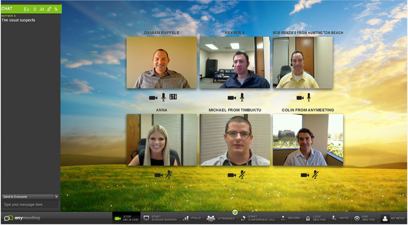 AnyMeeting, The Free Webinar Service, Launches Redesign, Six-Way