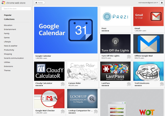 Google Gives Chrome Web Store A Welcome New Lick Of Paint