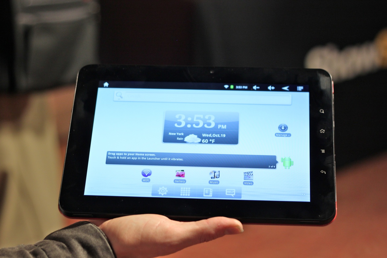 Hands-On With The Gingerbread-Powered E Fun Nextbook Premium9 Tablet