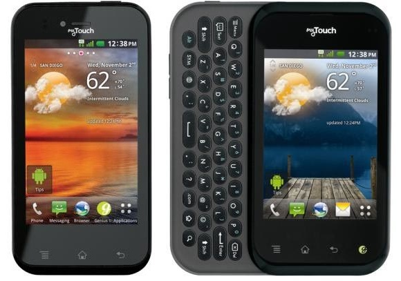 t mobile introduces a pair of mytouch handsets by lg techcrunch