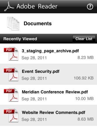 Adobe Pdf Reader For Iphone 4