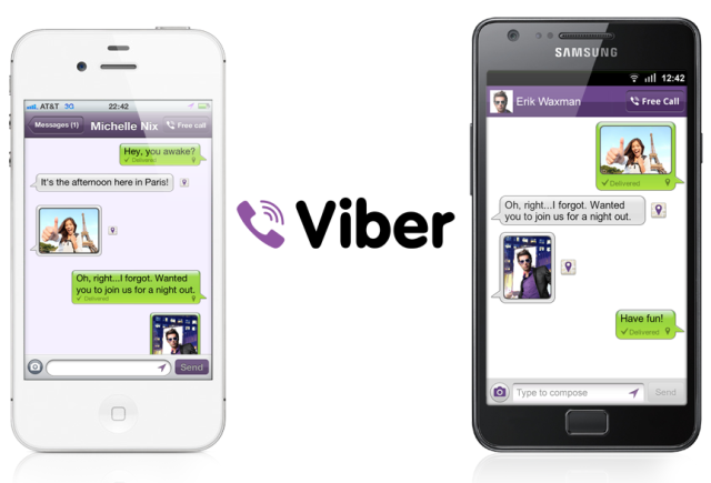 Viber Adds Photo, Location Sharing Abilities To Its Android, iPhone