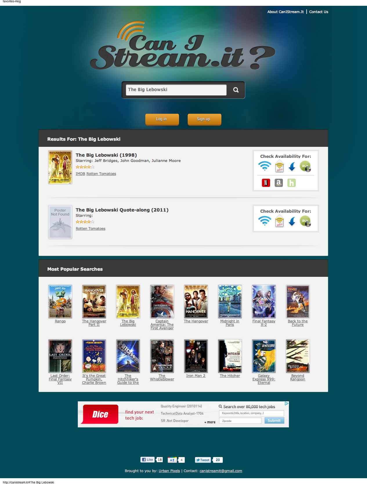 CanIStream.it Shows You Where You Can Stream, Rent, Download Or Buy Movies – TechCrunch