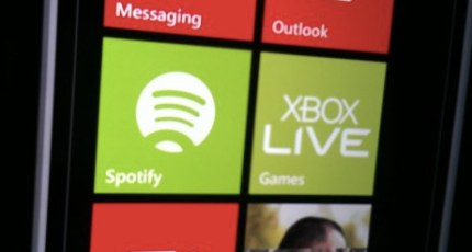 Spotify Lands On Windows Phone 7 5 Devices Today   TechCrunch