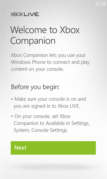 "Xbox 360-controlling ""Xbox Companion"" App Now Available For Windows"