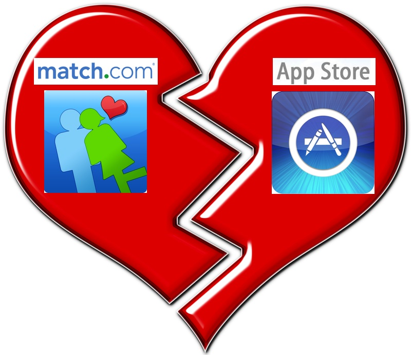 Apple Sends Match com's App To The Dog House For Untaxed