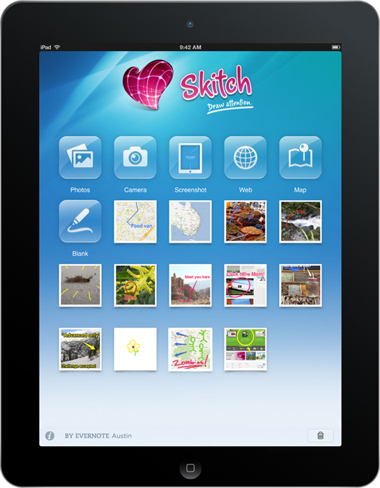 "Evernote's Skitch Arrives On iPad…iPhone Version Still ""In The Works"