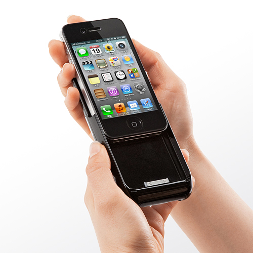 Sanwa supply rolls out micro projector for iphone 4 4s for Micro projector for iphone 6