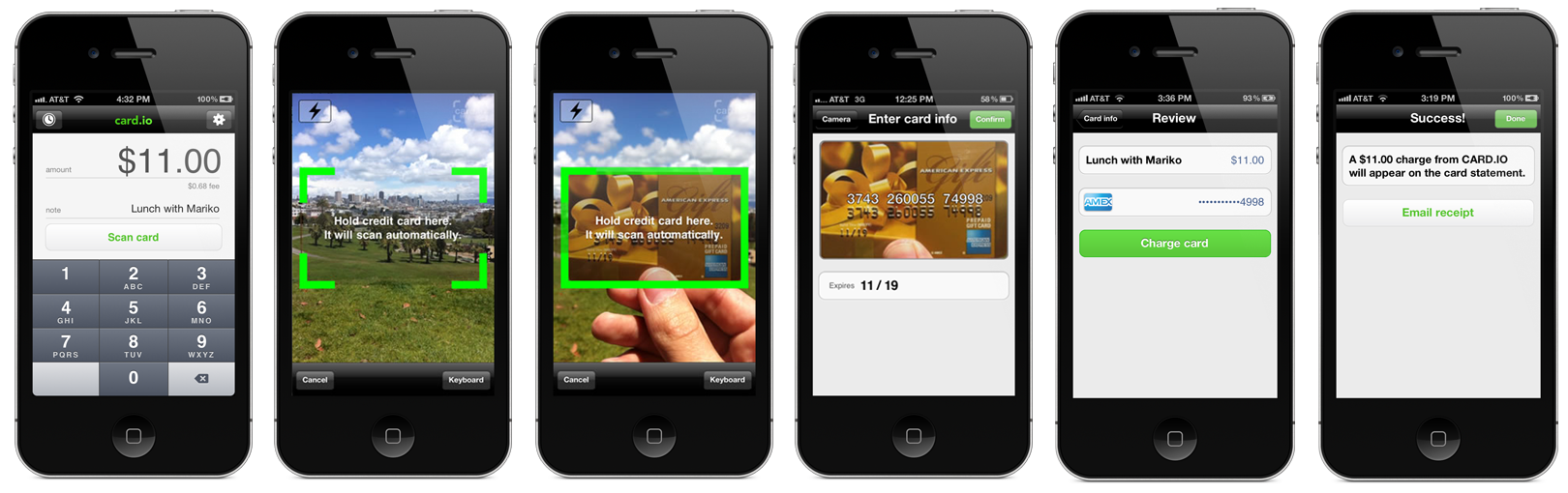 No more swiping card launches new consumer app developer tools also reheart Choice Image