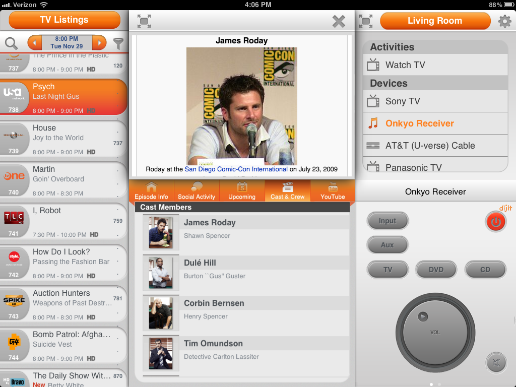 Dijit Remote Control App For iPad Finally Goes Live | TechCrunch