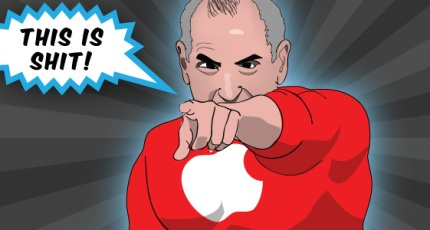 Steve Jobs Superhero Techcrunch
