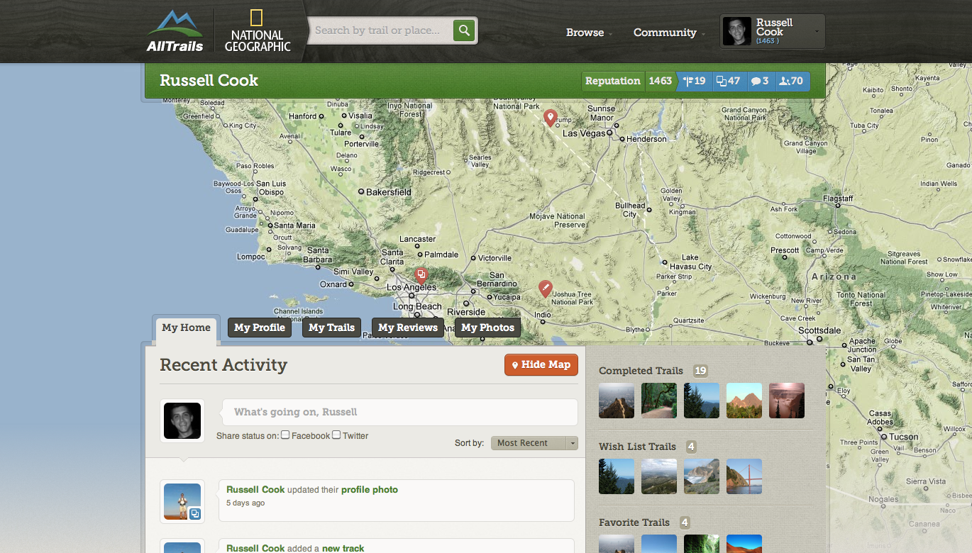 AllTrails Partners With National Geographic, Launches Redesigned, Co
