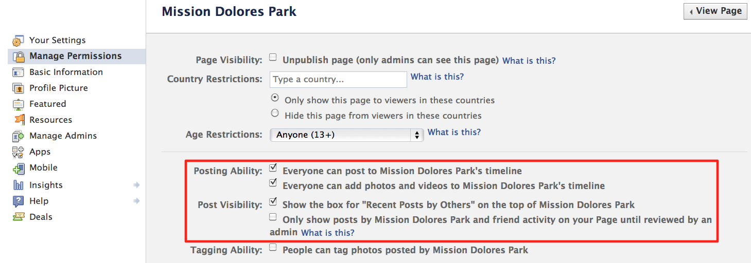 How to hide your featured photos on facebook