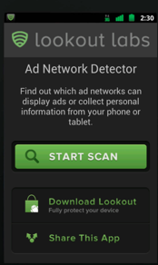 Lookout Debuts Ad Network Detector For Mobile Apps on