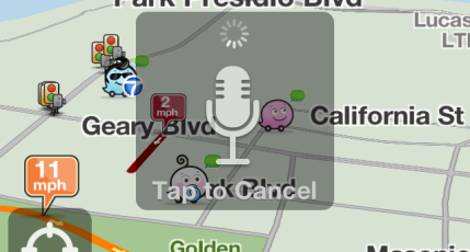 Waze Lets You Report Traffic With A Wave Of Your Hand | TechCrunch