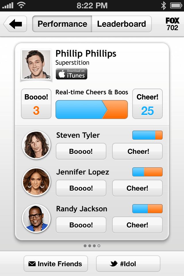 Social TV App Peel Adds Real-Time Cheering To American Idol | TechCrunch