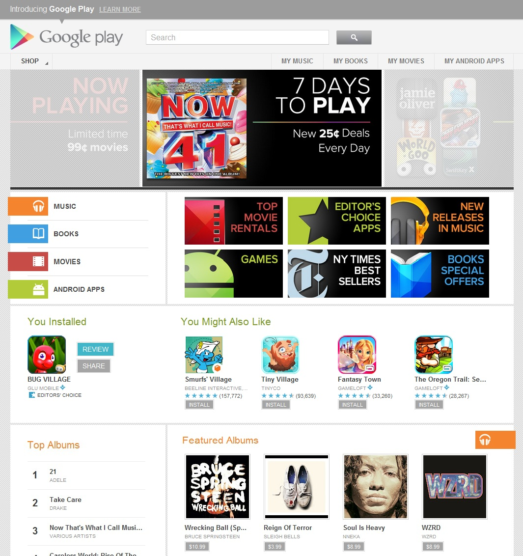 Goodbye Android Market, Hello Google Play | TechCrunch