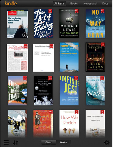 Updated Kindle Ios App Appears Just In Time For The New Ipad
