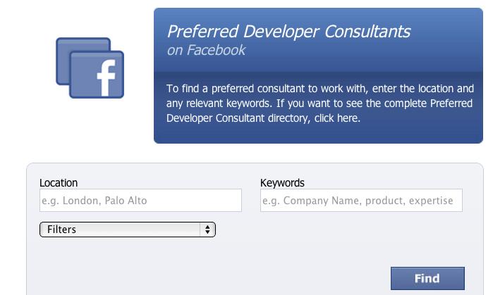 Facebook Plans Major Overhaul To Preferred Developer Consultant