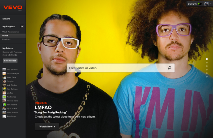 The New VEVO: Music Video Giant Adds Personalization