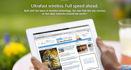 Update: New iPad Runs 4G? Not In Australia, Says Consumer